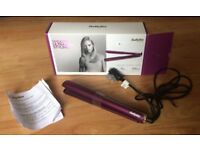 Babyliss hair straighteners Velvet Orchid 235 Boxed