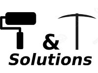 T&T House and Garden Solutions- Landscaping, Gardening, Decorating, Clearance, Repairs and Upkeep