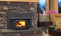 Rugged Canadian Made Wood Burning Insert - Best Installed Price