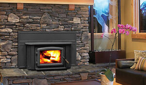 Rugged Canadian Made Wood Burning Insert - Great Installed Price