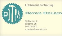 General contracting 10% off