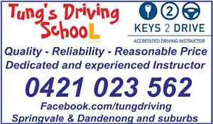 Cheap Driving lesson in Melbourne Springvale Greater Dandenong Preview