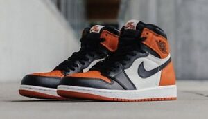 Jordan 1 Retro High Satin Shattered Backboard - size 6 women