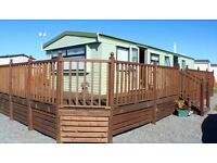 Static CARAVN for sale PRIVATE SALE OCEAN EDGE HOLIDAY PARK 12 MONTH SEASON 5*FACILITIES