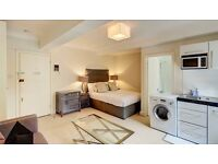 Studio flat in Pelham Court, 145 Fulham Road, Chelsea