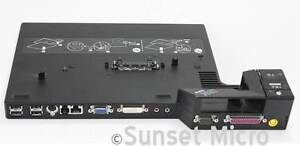 lenovo docking station type 2504 plus genuine Lenovo adapter