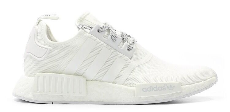 hwayfq Adidas NMD R1 \'White Reflective\' Size UK 9 Brand New | in
