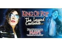 NAVI King of Pop (Plus other acts) Charity Event in aid of Glasg Childrens Hospital