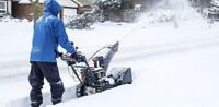 Cash work (snow removal)