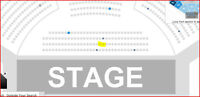 TRAIN & THE FRAY SECOND ROW PLATINUM - BELOW COST