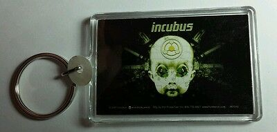 AS-IS INCUBUS BABY HEAD BLACK GREEN KEY CHAIN KEYCHAIN
