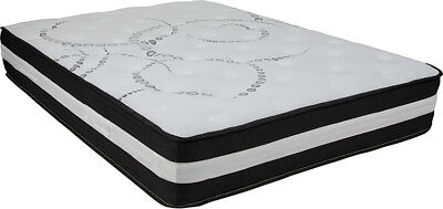 Full Mattress And Box Spring (12 Inch Foam and Pocket Spring Mattress, Full in a Box )