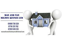 Man and Van Milton Keynes Ltd- Local friendly removal service, free quotes 01908 730329