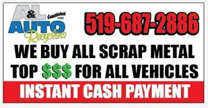 $$CASH FOR YOUR SCRAP CAR$$