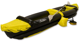 2 person kayak with pump and paddle