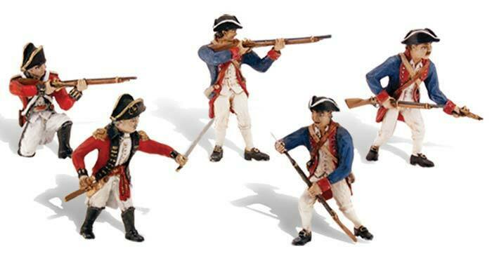 NEW Woodland Scene-A-Rama Revolutionary War Soldier Train Scenery N/HO SP4454