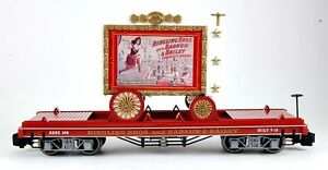 Bachmann-G-Scale-Train-1-22-5-Ringling-Brothers-Circus-Lady-Artists-Car-92714