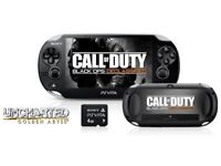 PSP VITA USED AND FULLY WORKING CALL OF DUTY EDITION
