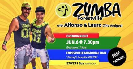 Zumba Forestville with Lauro from Brazil