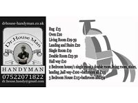 **Dr.House Man Handyman! 24/7!! £12/hour all job**New!! Carpet &Upholstery,etc..Cleaning!