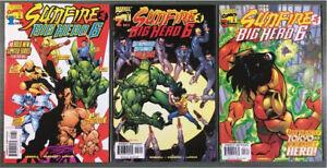 MARVEL COMICS SUNFIRE & BIG HERO 6, #1,2,3