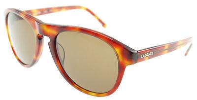 LACOSTE Light Havana / Brown Sunglasses L608S 218