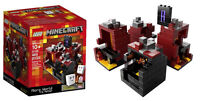 Minecraft Lego Microworld The Nether