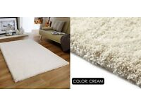 Brand New Shaggy Rugs - range of colours and sizes