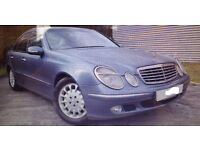 2003 MERCEDES E270 CDI AUTO NICE CAR WITH HISTORY FULL MOT BUT TURBO GONE £1400
