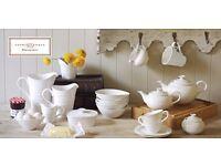 24 piece Sophie Conran for Portmeirion crockery set (dinner plates, side plates, cereal bowls)