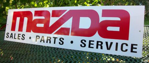MAZDA SALES PARTS SERVICE SIGN RX7 ROTARY STARLET RX8 MIATA MAZDASPEED RACING