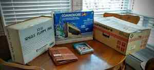 Big Commodore 64 Bundle In Box: Computer Printer Floppy Drive Al