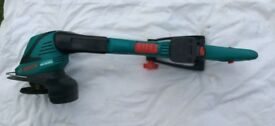 BOSCH 18 VOLT CORDLESS TRIMMER (LITHIUM ION BATTERY ) FOR SALE , MISSPLACED CHARGER ,