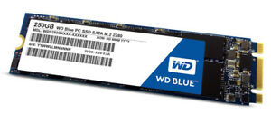 250 GB SSD WD Blue M.2 - New and Sealed