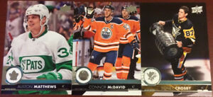 2017-18 Upper Deck (UD) Series 1 and 2 FULL BASE SET (400 cards)