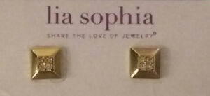 Gold Tone Lia Sophia Earrings London Ontario image 1