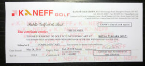 Kaneff Golf 4 Pass - Royal Niagara