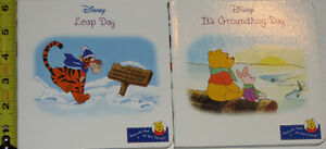 Winnie the Pooh Leap Year & Groundhog Day BOARD Books London Ontario image 2