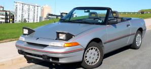 1991 Mercury Capri roadster