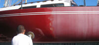 Boat Detailing (Compounding and Waxing)
