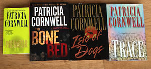 Assorted books Authors include Cornwell, Deaver, Demille etc.