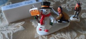 Don't wait! Add Lemax figures to your Christmas Village display