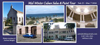 2016 Mid-Winter Cuban Salsa dance and Paint Group Excursion
