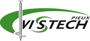 Pieux Vistech Rive-Sud / Site web www.PieuVistech.com
