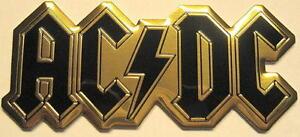 AC/DC METALL AUFKLEBER / METAL STICKER # 57