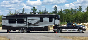 RV -Fifth wheel -FULL PAINT -36 pieds- IMPECCABLE