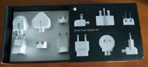 Apple Mac power cable World Travel Adapter Kit