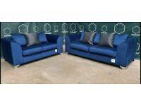Brand new plush velvet 3+2 seater sofa sets💯top quality👏sale price🔥🔥