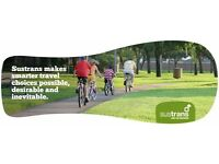 Cycle Path Fundraiser - Sustrans - Part time - £9.50 per hour - Charity Work