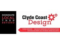 Clyde Coast Design - Birmingham & UK Web Designers, SEO Specialists Page 1 Google Track Record